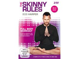 Bob Harper The Skinny Rules Full Body Workout 3 DVDs
