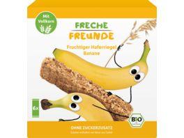 Fruchtige Freunde Bio Fruchtiger Haferriegel Banane 6x30g
