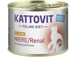 Kattovit Feline Diet Niere Renal Huhn