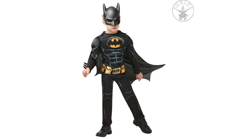 Rubies 3300002 Batman Black Core Deluxe Child