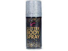 Jofrika 706750 Glitter Bodyspray 100ml silber