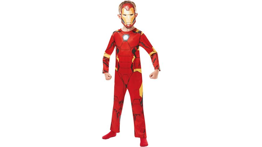 Rubies 3640829 Iron Man Avengers Assemble Classic Child