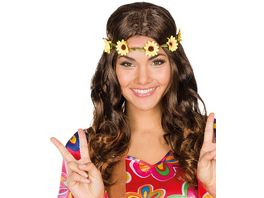 Rubies 54437 Flower Power braun
