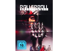 Rollerball 3 Disc Limited Collector s Edition im Mediabook Blu ray DVD Bonus Blu Ray