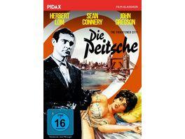 Die Peitsche The Frightened City Spannungsgeladener Soho Krimi mit Herbert Lom und Sean Connery Pidax Film Klassiker