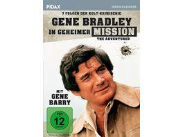 Gene Bradley in geheimer Mission The Adventurer Sieben Folgen der Kult Krimiserie mit Gene Barry Pidax Serien Klassiker