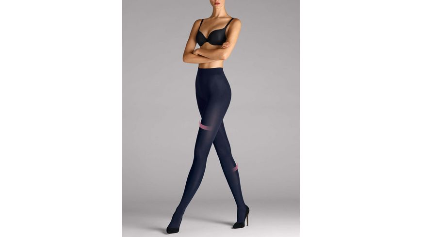 Wolford Damen Feinstrumpfhose Velvet leg support Tights 66 DEN