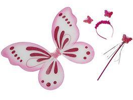 Rubies 613500 Schmetterling Set 3tlg