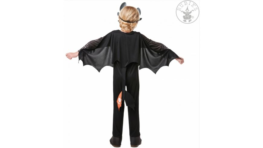 Rubies 3641470 Toothless Dragons 3 Child