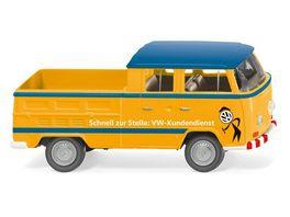 WIKING 031403 VW T2 Doppelkabine VW Kundendienst 1 87