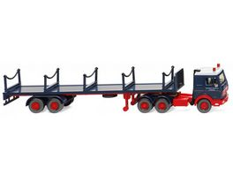 Wiking 0554 02 Rungensattelzug MB 3850 Rheinkraft Spedition 1 87