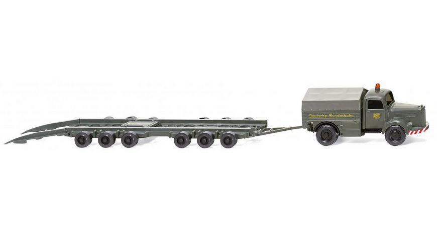 "WIKING 059003  Straßenroller Culemeyer (MB L 3500) ""DB"" 1:87"