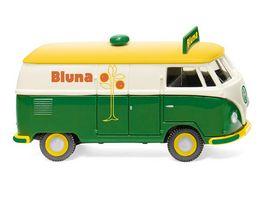 WIKING 078814 VW T1 Typ 2 Kastenwagen Bluna 1 87