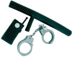 Rubies 6300971 Polizei Set 3tlg