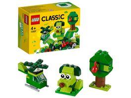 LEGO Classic 11007 Gruenes Kreativ Set