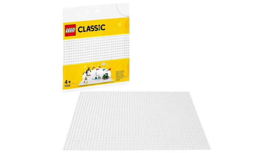 LEGO Classic - 11010 Weiße Bauplatte