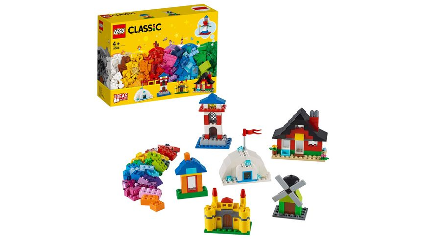LEGO Classic - 11008 LEGO Bausteine - bunte Häuser