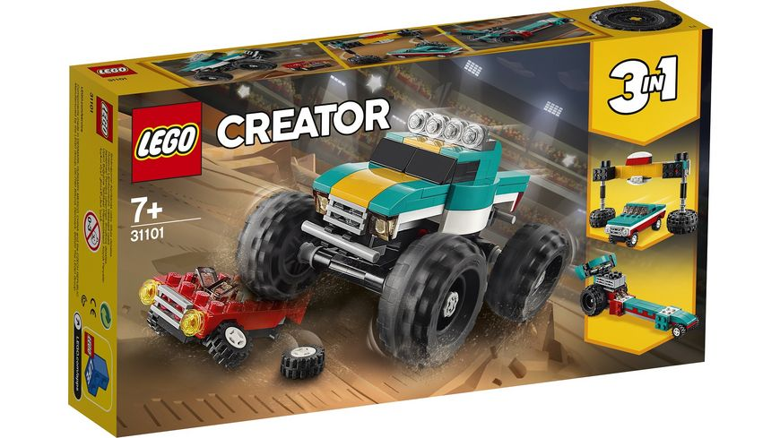 LEGO Creator 31101 Monster Truck