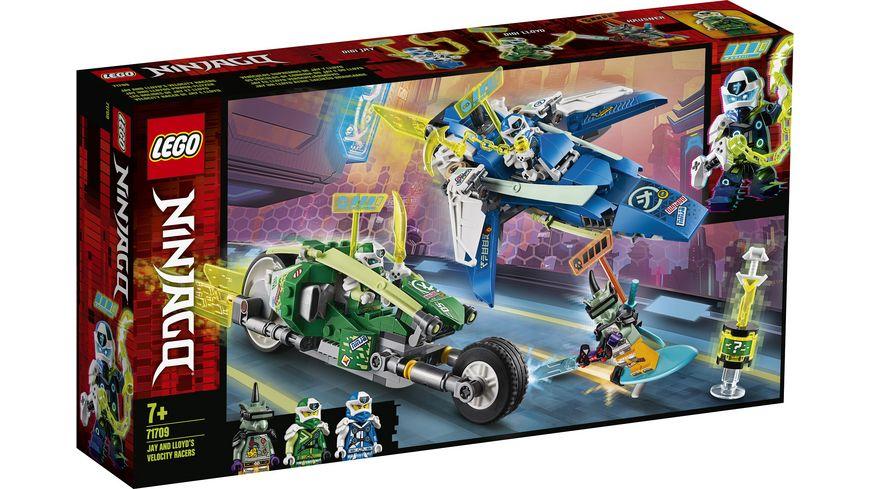 LEGO Ninjago 71709 Jay und Lloyds Power Flitzer