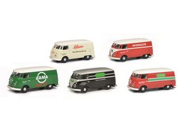 Schuco Edition 1 87 VW T1C 5er Set