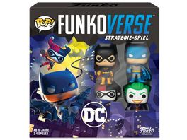 Funko POP Funkoverse DC 100 4 Pack Strategie Spiel