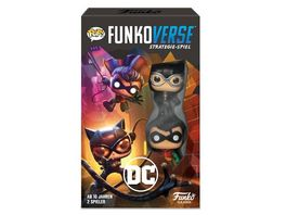 Funko POP Funkoverse DC 101 2 Pack Strategie Spiel