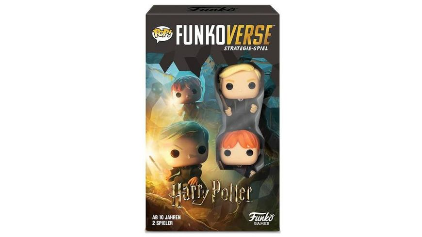 Funko POP Funkoverse Harry Potter 101 2 Pack Strategie Spiel