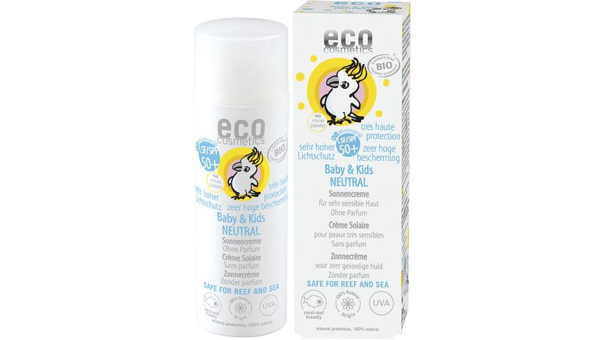ECO Baby & Kids Sonnencreme LSF 50+ neutral
