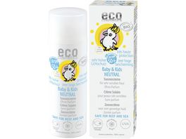 ECO Baby Kids Sonnencreme LSF 50 neutral