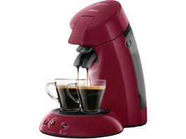 PHILIPS Senseo Original Kaffeepadmaschine HD6554 90