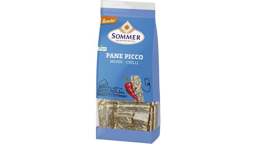 SOMMER Dinkel Pane Picco Mohn Chili 150g