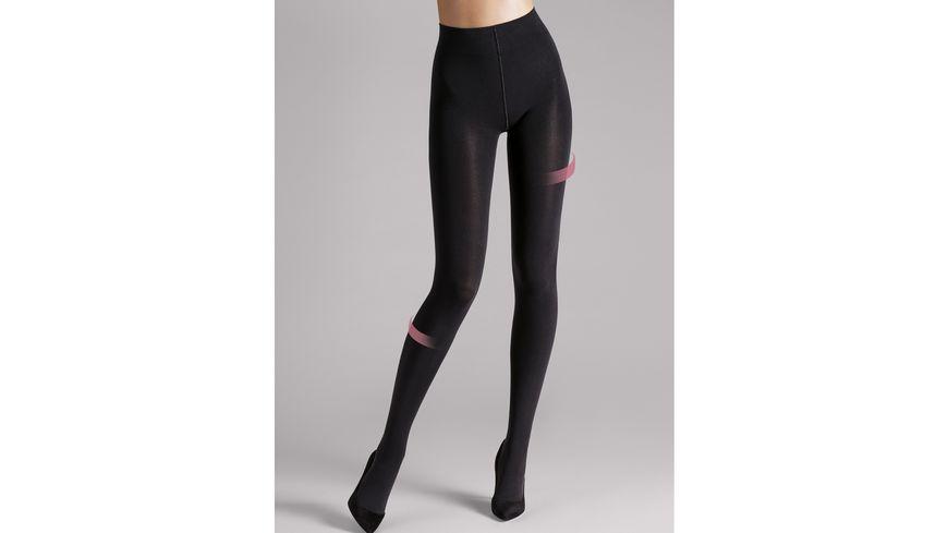 Wolford Damen Feinstrumpfhose Individual Leg Support Tights 100 DEN
