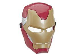 Hasbro Marvel Avengers Iron Man elektronische Maske mit Lichteffekten fuer Kostueme und Rollenspiele