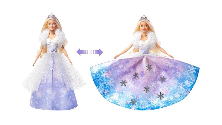 Mattel Barbie Dreamtopia Schneezauber Prinzessin
