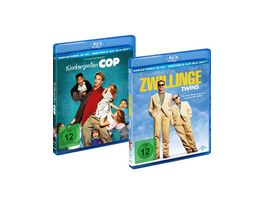 Bundle Kindergarten Cop Zwillinge Twins LTD 2 BRs