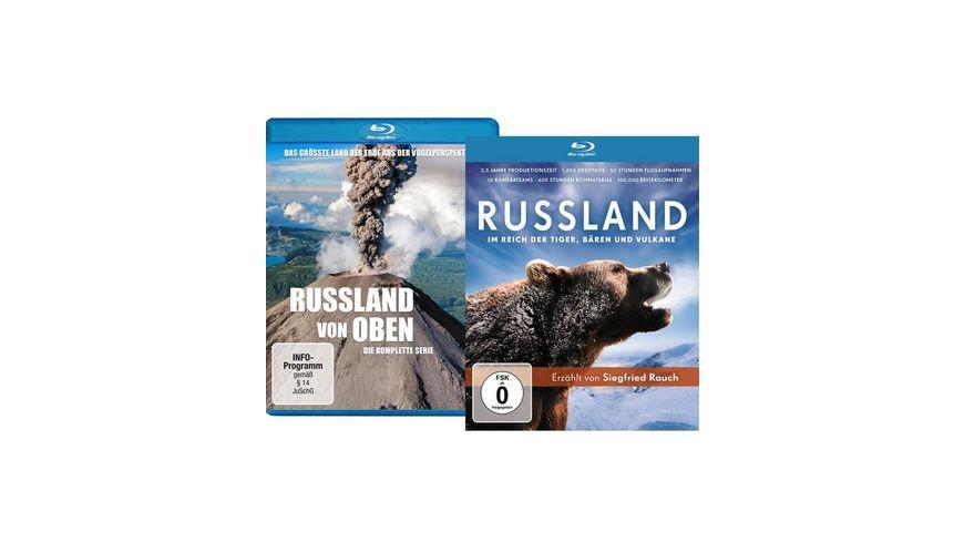 Bundle Russland von oben Die komplette Serie Russland Im Reich der Tiger Baeren und Vulkane LTD 2 BRs
