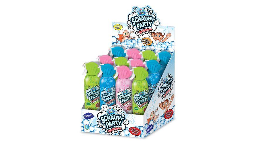 Xtrem Toys Wasserspass SCHAUMPARTY Badeschaum Spruehdose 340 ml 1 Stueck sortiert
