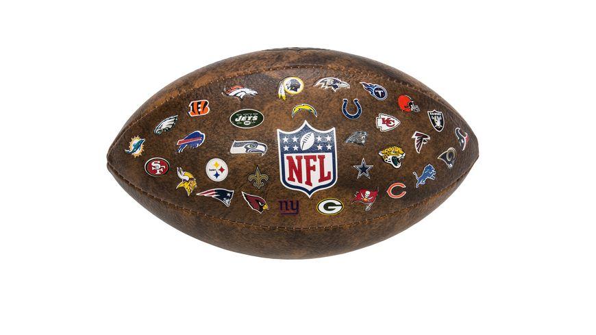 Xtrem Toys American Football NFL Junior Throwback 32 Team Logo