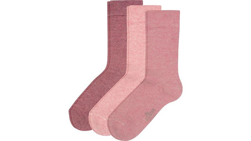 s.Oliver Kinder Socken Organic 3er Pack