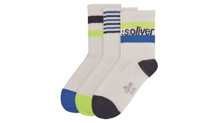 s Oliver Kindersocken Short 3er Pack