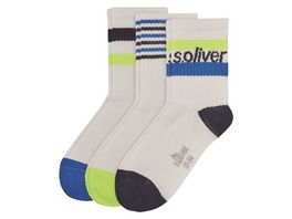 s Oliver Kinder Socken Short 3er Pack