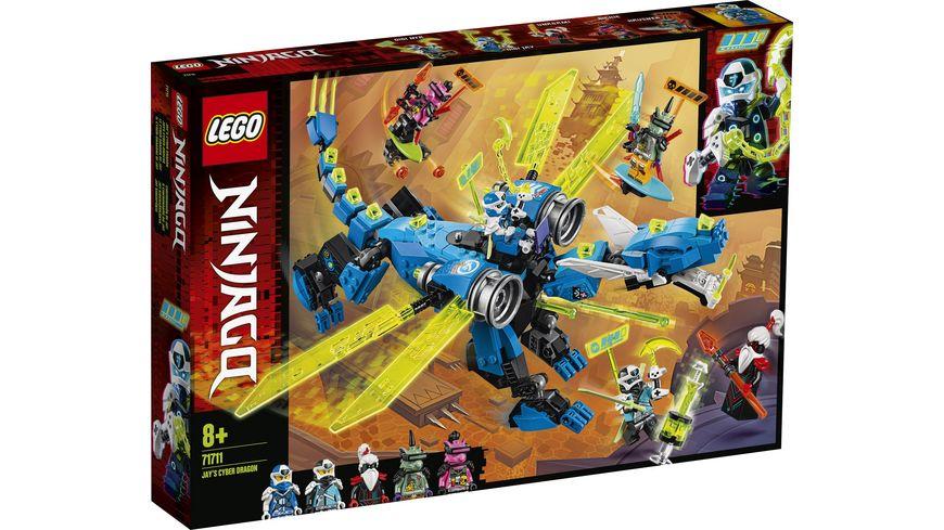 LEGO Ninjago 71711 Jays Cyber Drache