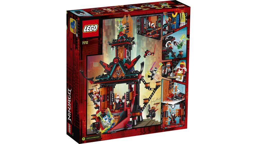 LEGO Ninjago 71712 Tempel des Unsinns