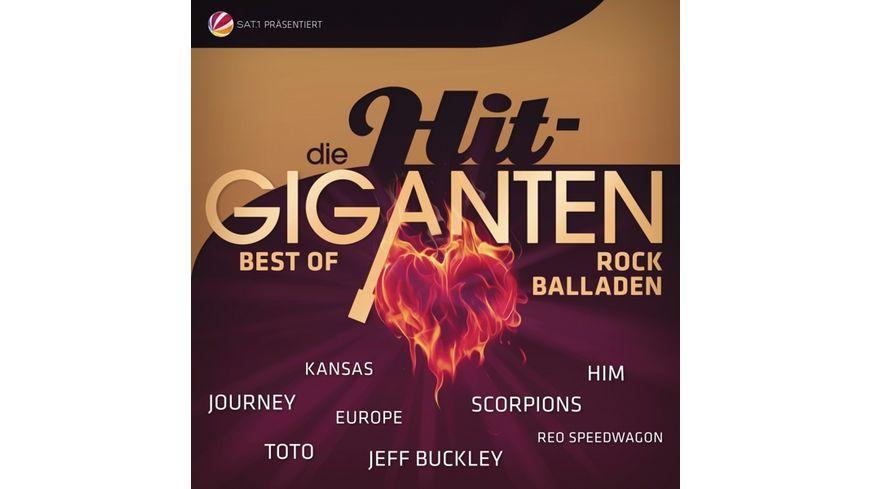 Die Hit Giganten Rock Balladen