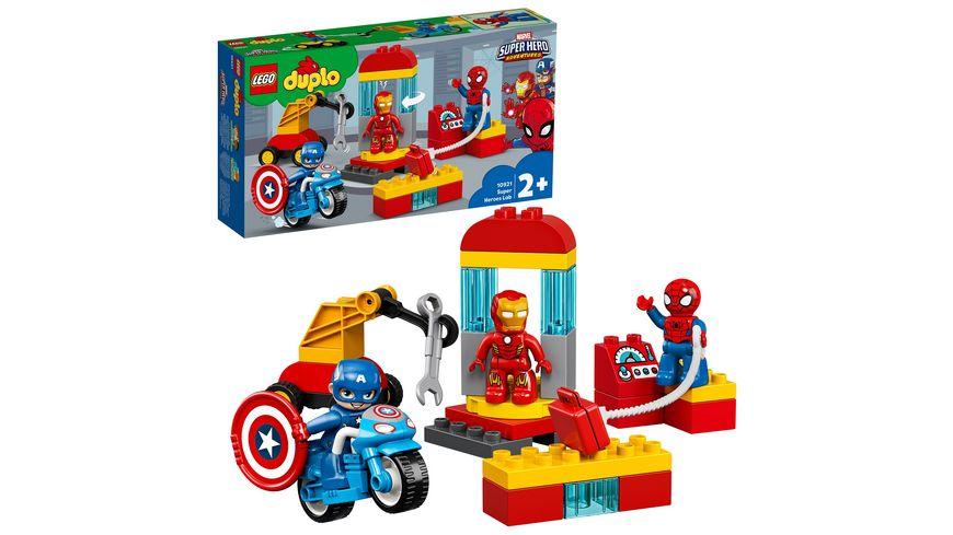 LEGO DUPLO 10921 Iron Mans Labor Treffpunkt