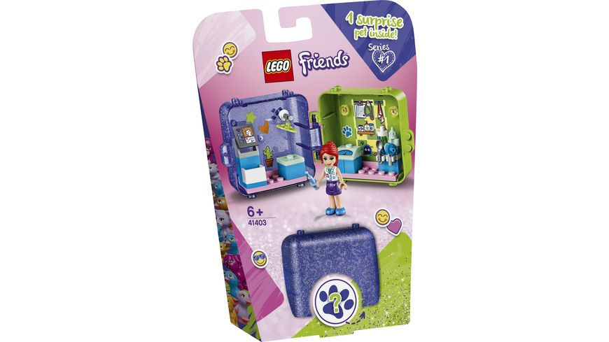 LEGO Friends 41403 Mias magischer Wuerfel Tieraerztin