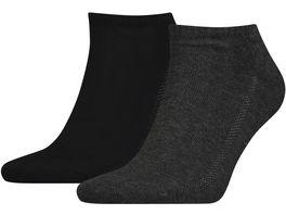 Levis Unisex Sneaker Socken 168SF Unisex 2er Pack