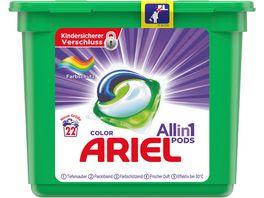 Ariel All in 1 PODS Color Farbschutz 22Waschladungen