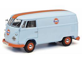 Schuco Edition 1 18 VW T1b Kastenwagen Gulf 1 18