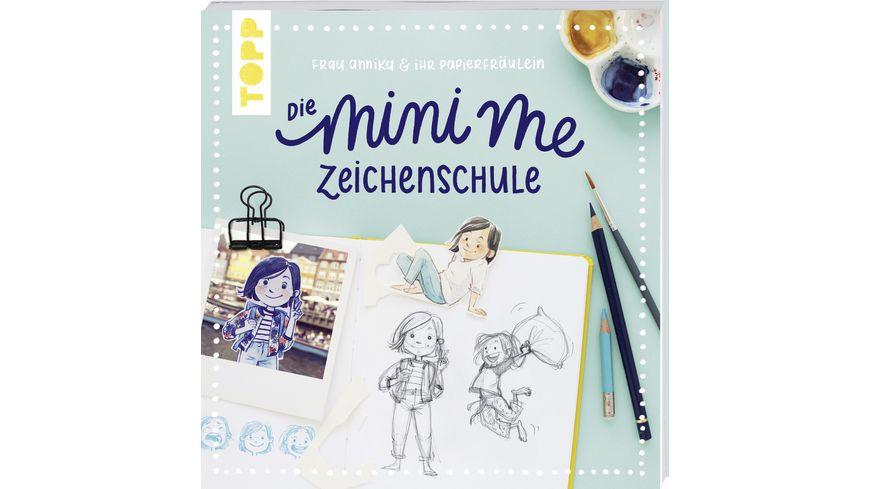 Frau Annika und ihr Papierfraeulein Die Mini me Zeichenschule Mit Bildergalerie und Vorlagen zum Download